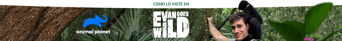 As featured in: Animal Planet, Evan Goes Wild